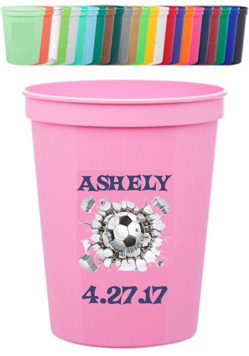 Custom Printed 16 oz Stadium Cups - Printed Full Color 1