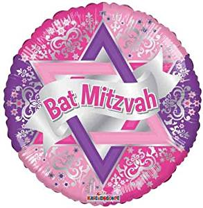 Bat Mitzvah Balloonmitzvahmart.com