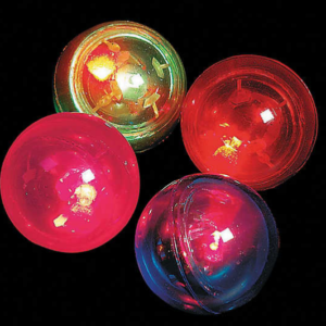 Flashing Bouncy Ball Assortment mitzvahmart.com