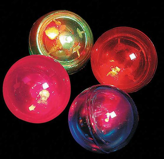 Flashing Bouncy Ball Assortment mitzvahmart.com