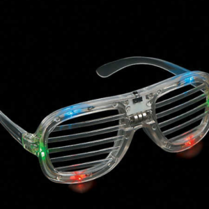 Light-Up LED Shutter Glasses mitzvahmart.com