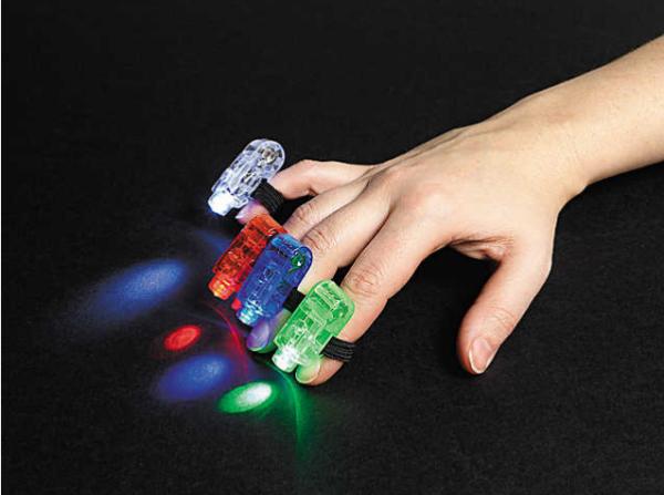 Finger Beam Lights mitzvahmart.com