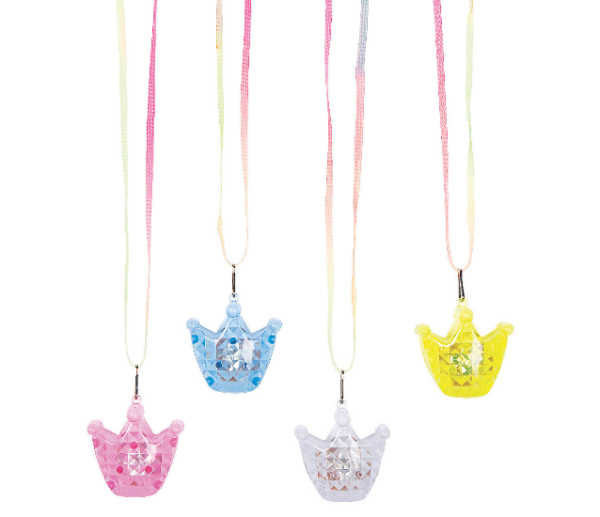Light-Up Crown Necklaces 1